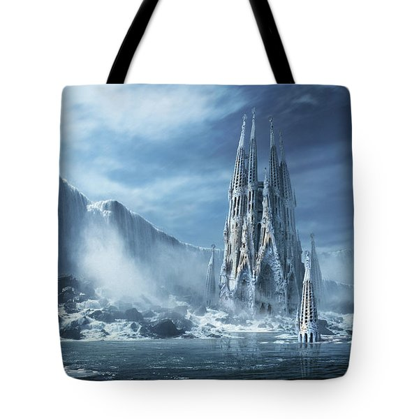 Gothic Fantasy Or Expiatory Temple Tote Bag