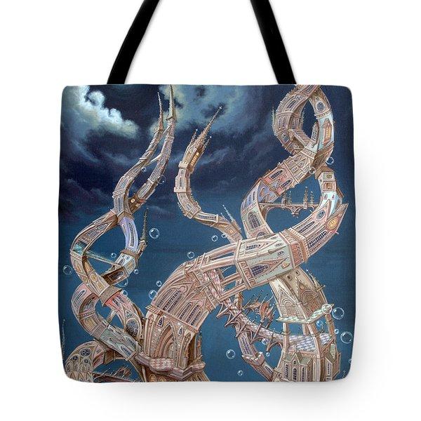 Gothic Genome Tote Bag