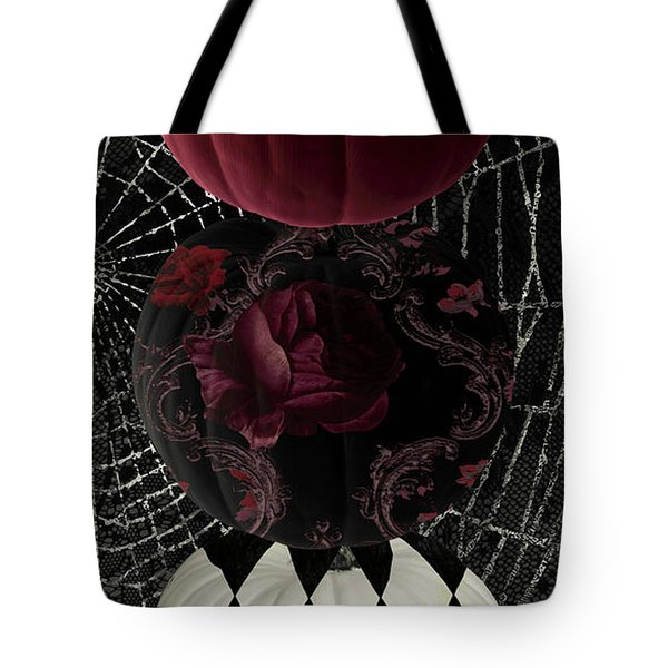Gothic Halloween Tote Bag by Mindy Sommers