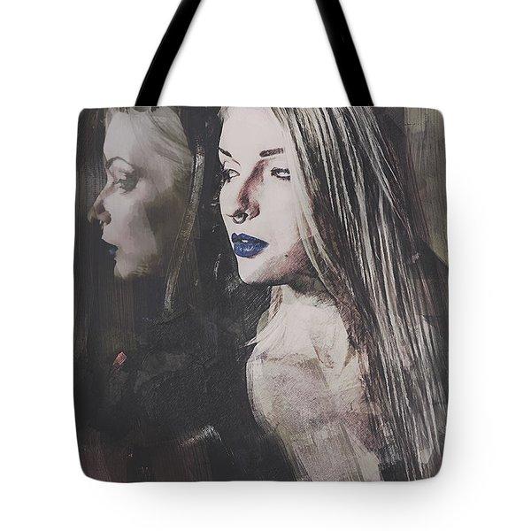 Gothic Mirror Echo Tote Bag