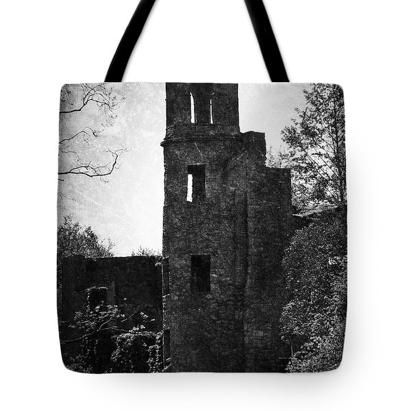 Gothic Tower At Blarney Castle Ireland Tote Bag