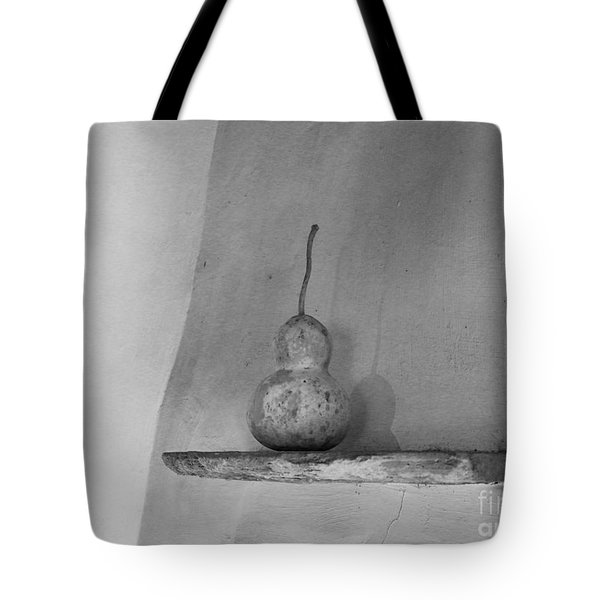 Gourd Black And White Tote Bag by Jeanette French