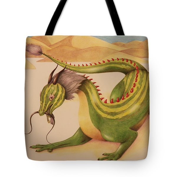 Gourd Dragon Tote Bag