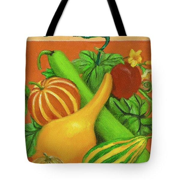 Gourds Orange No Letterings Tote Bag