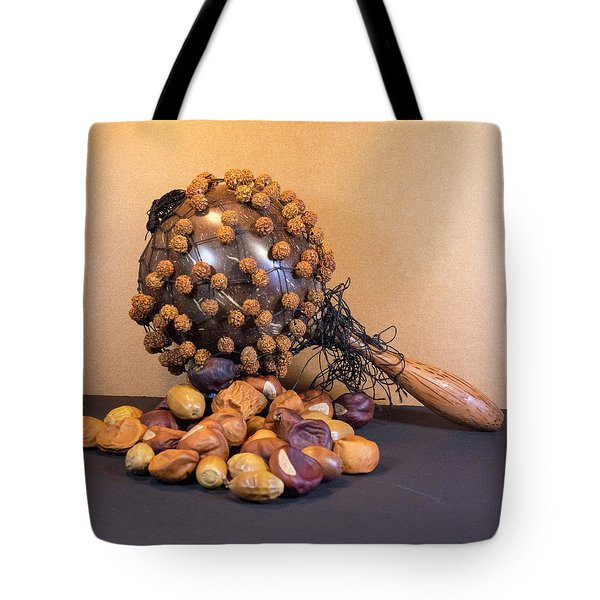 Gourd Rattle Bali Musical Instrument From Bali Tote Bag