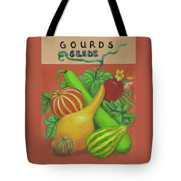 Gourd Orange Tote Bag