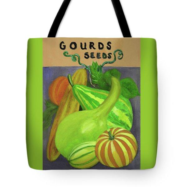 Gourd Purple Tote Bag