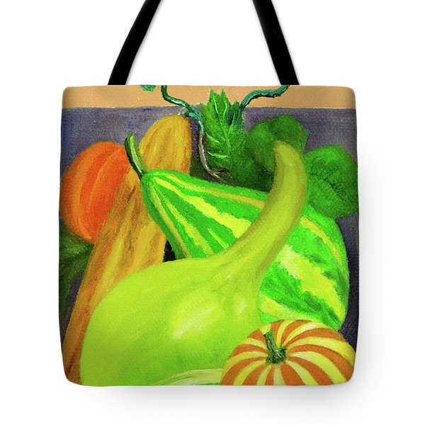 Gourds Purple No Lettering Tote Bag