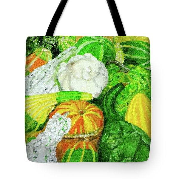 Gourds Seed Packet No Lettering Tote Bag