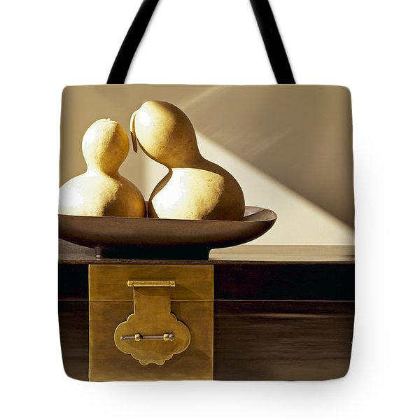 Gourds Still Life II Tote Bag by Kyle Rothenborg - Printscapes