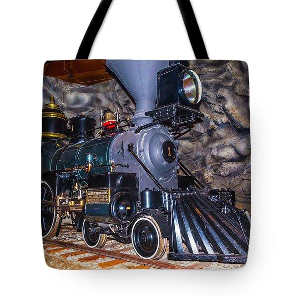 Gov Stanford Train Tote Bag