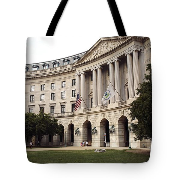 Government Achitecture In Washington Dc Tote Bag