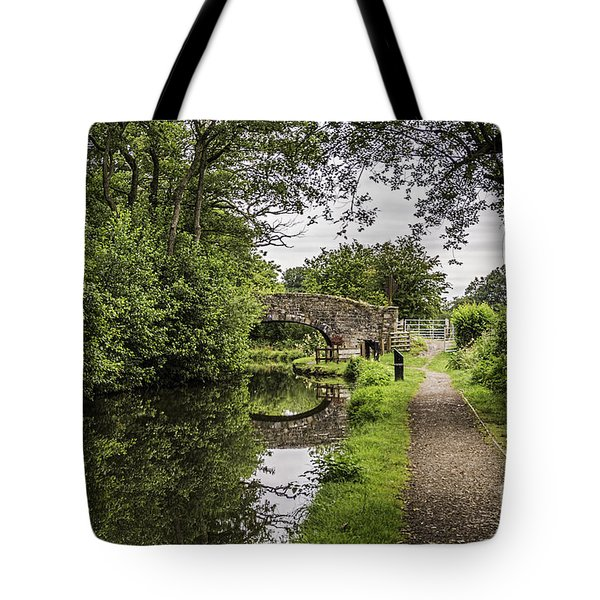 Goytre Wharf  Bridge Tote Bag