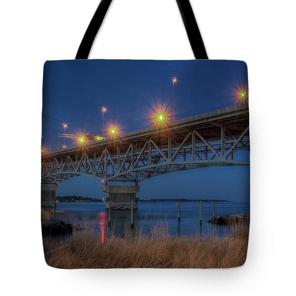 G.p. Coleman Bridge Tote Bag