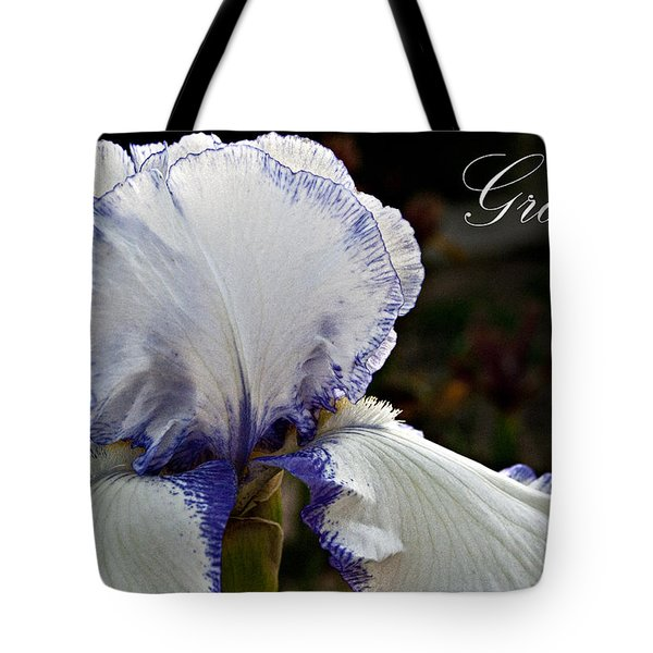 Grace Tote Bag by Christopher Gaston