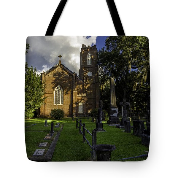 Grace Episcopal Church Tote Bag