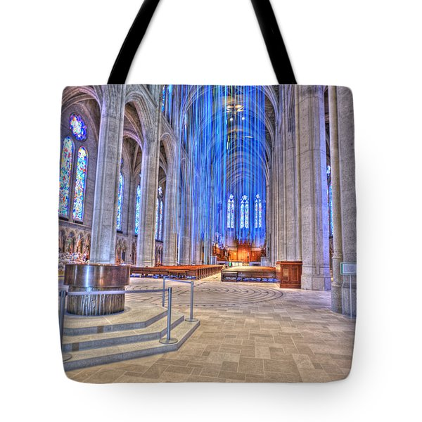 Grace Grunge Tote Bag by David Bearden