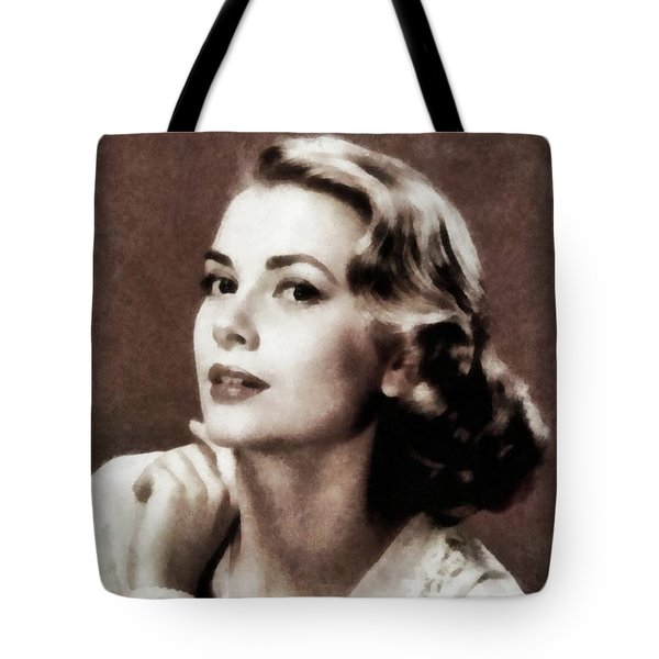 Grace Kelly, Actress, By Js Tote Bag