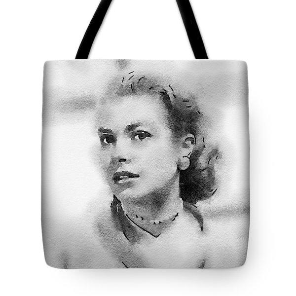 Grace Kelly By John Springfield Tote Bag