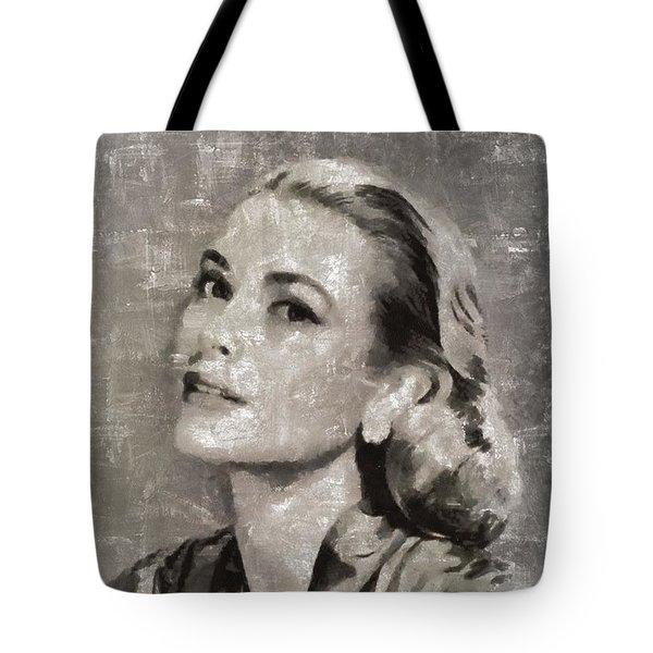 Grace Kelly By Mary Bassett Tote Bag