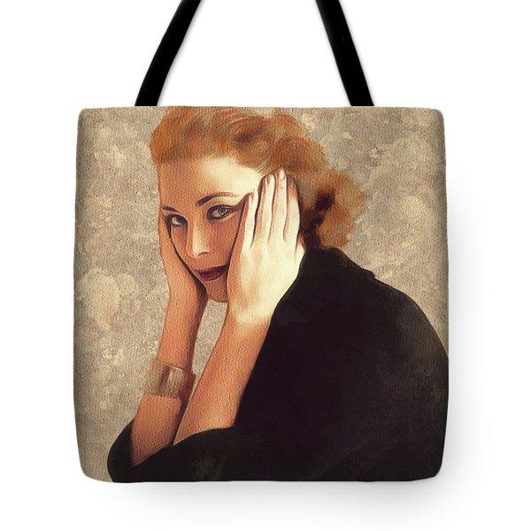 Grace Kelly, Hollywood Legend Tote Bag