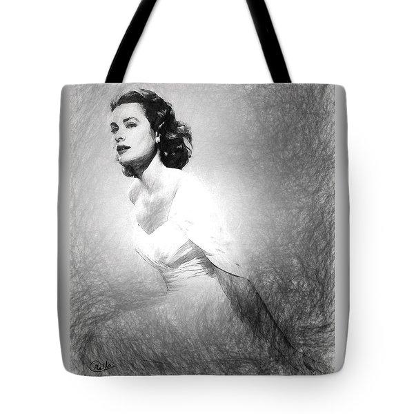 Grace Kelly Sketch Tote Bag