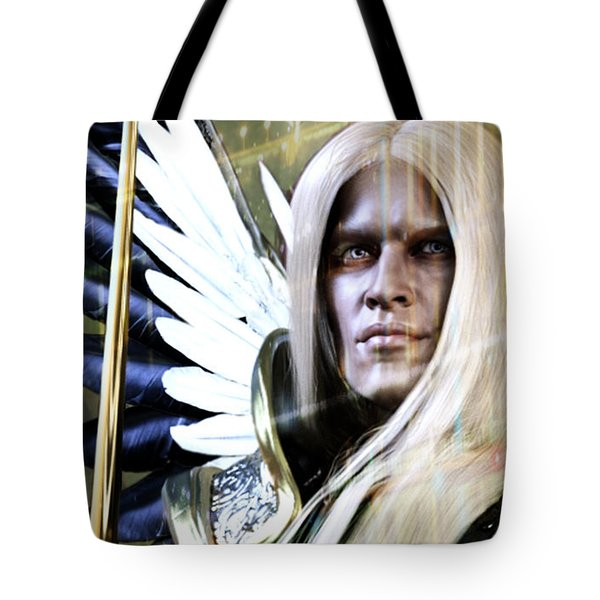 Grace Of Light Tote Bag