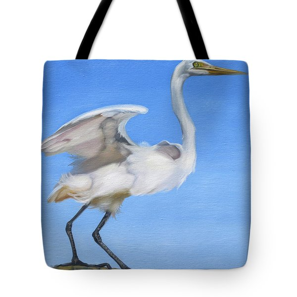 Tote Bag featuring the painting Graceful by Phyllis Beiser