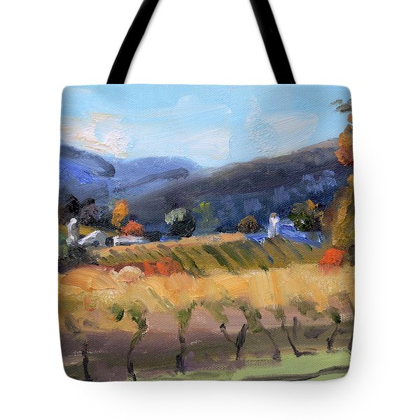 Grace Estate Winery Charlottesville Va Tote Bag