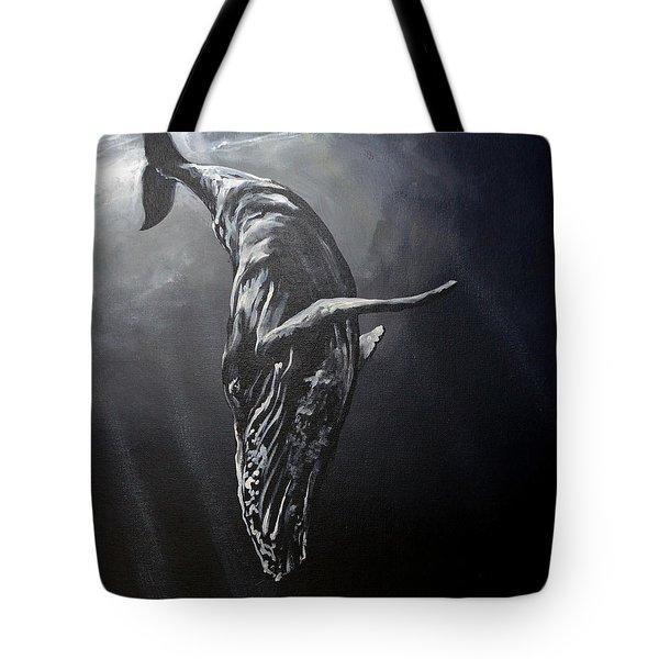 Graceful Descent Tote Bag by Marco Antonio Aguilar