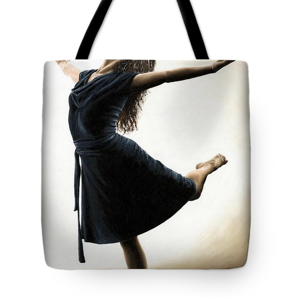 Graceful Enlightenment Tote Bag by Richard Young