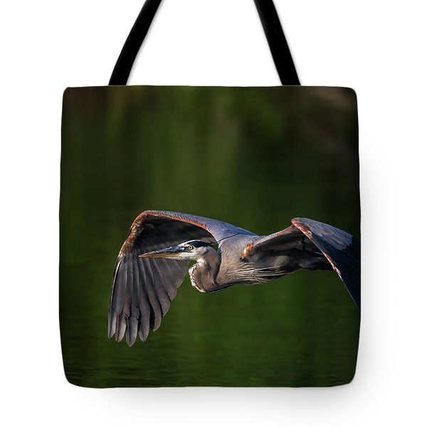 Graceful Flight Tote Bag