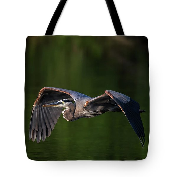 Tote Bag featuring the photograph Graceful Flight by Everet Regal