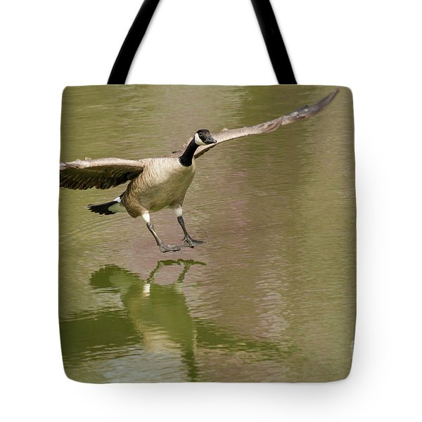 Graceful Goose Tote Bag