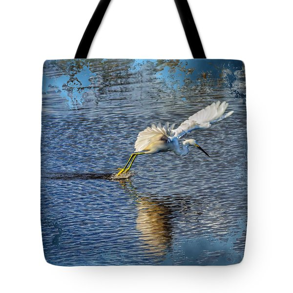 Tote Bag featuring the photograph Graceful Hunter 2 by John M Bailey