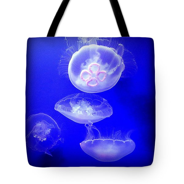 Graceful Jellies - Ballerinas Of The Sea Tote Bag