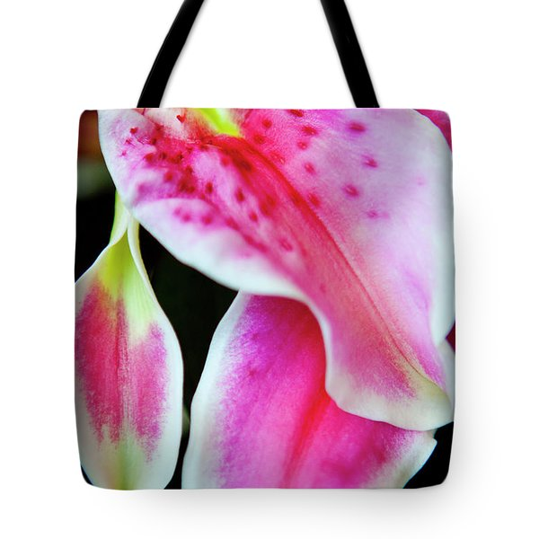 Graceful Lily Series 31 Tote Bag by Olga Smith