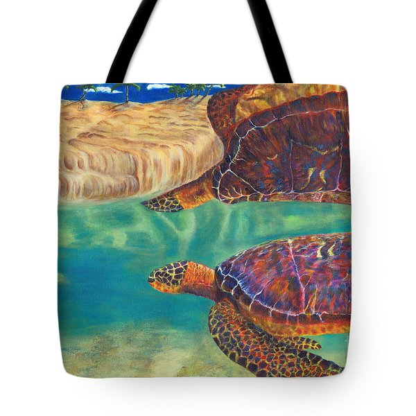 Graceful Reflections Tote Bag
