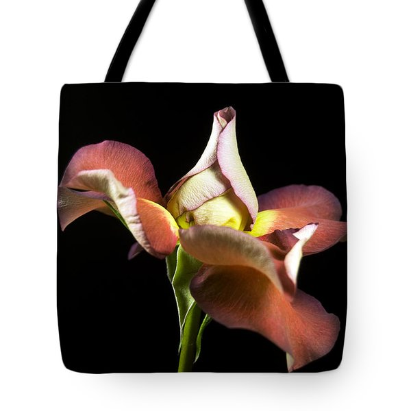 Graceful Rose Petals Tote Bag