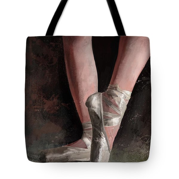 Graceful Slippers Tote Bag