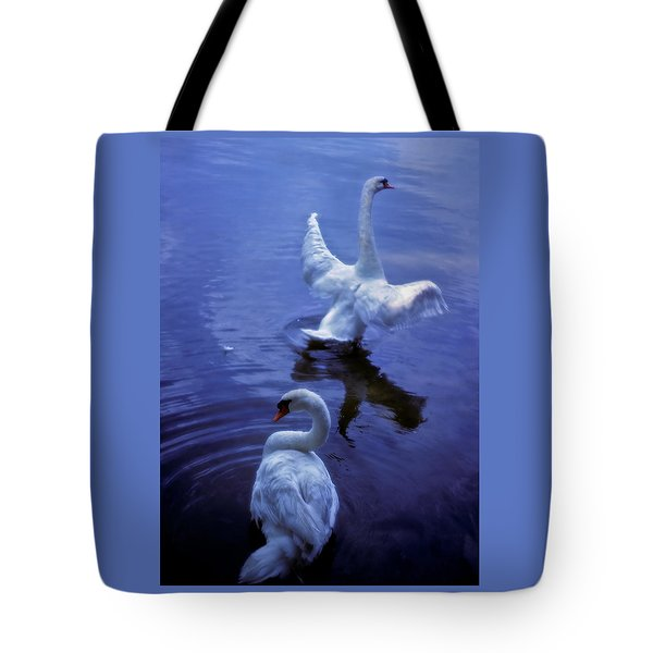 Graceful Swans Tote Bag