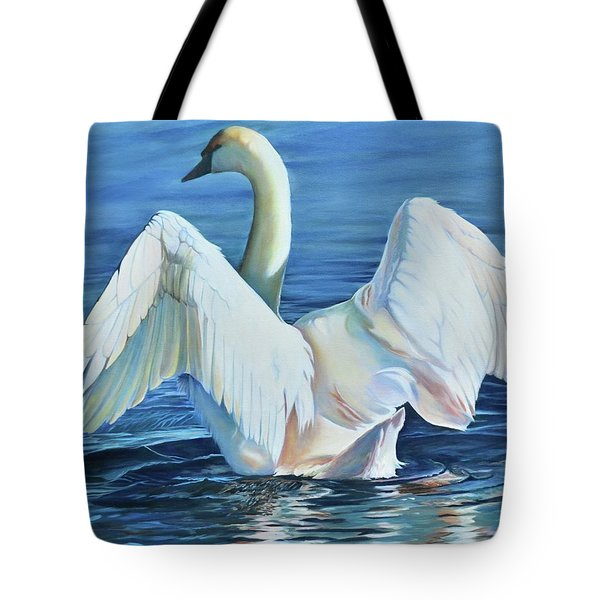 Graceful Warning Tote Bag