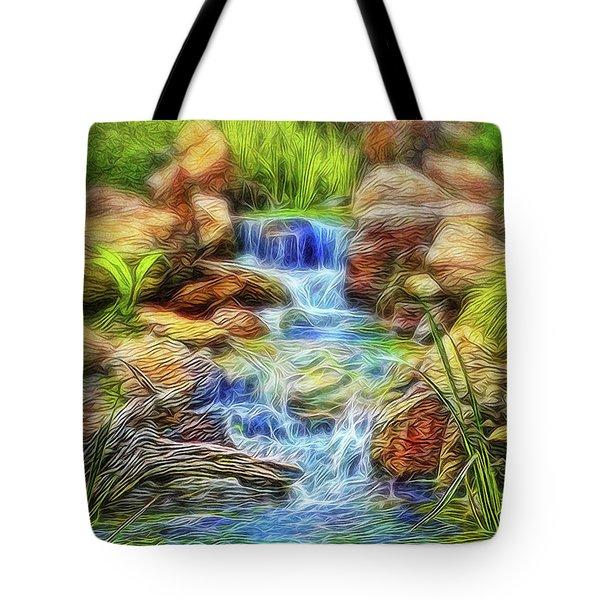 Graceful Waters Tote Bag