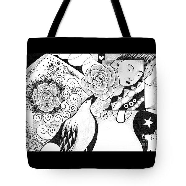 Gracefully Tote Bag