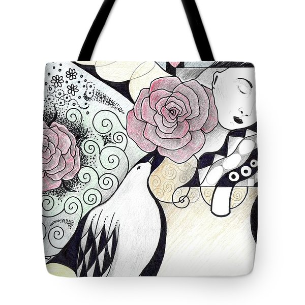 Gracefully - In Color Tote Bag