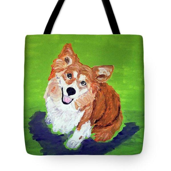 Gracie_dwp_may_2017 Tote Bag
