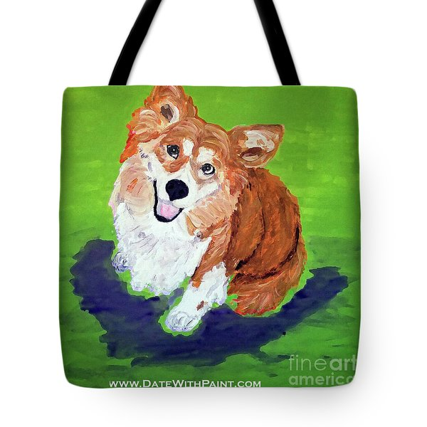 Gracie_dwp_may_2017 Tote Bag