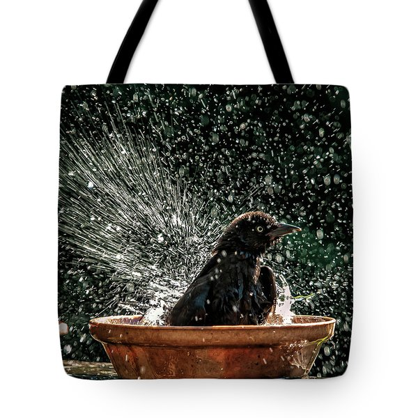 Grack Bath Flower Pot Tote Bag