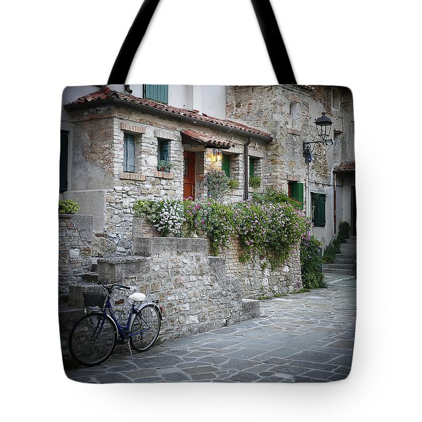 Grado Antica Tote Bag by Evelyn Tambour