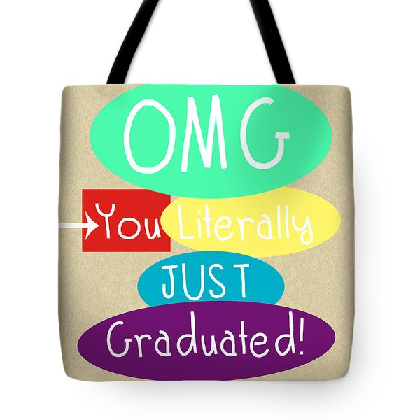 Graduation Card Tote Bag